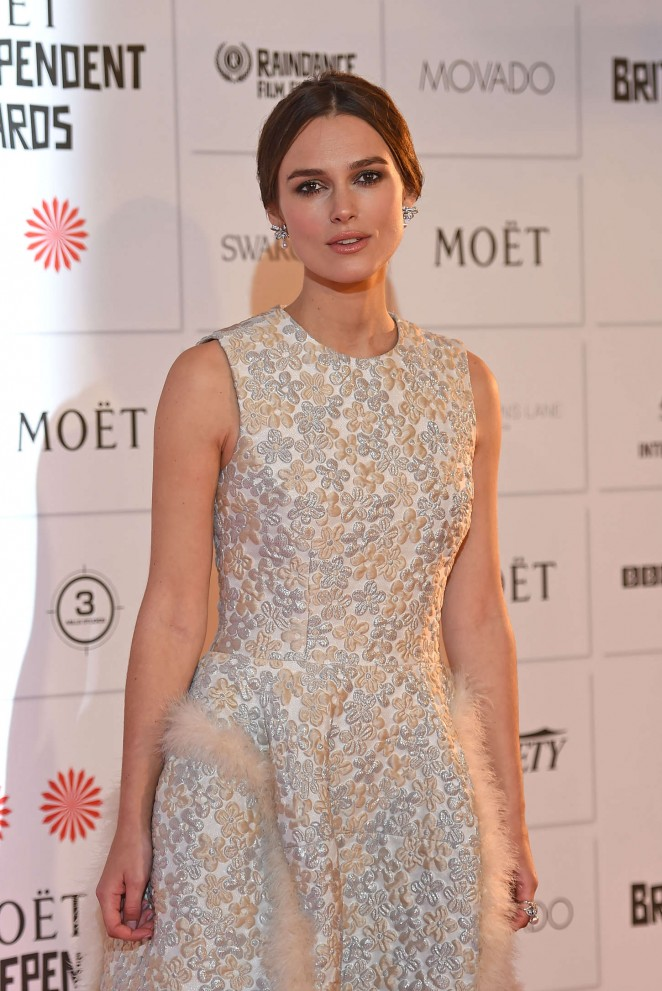 Keira Knightley: 2014 The Moet British Independent Film Awards-12