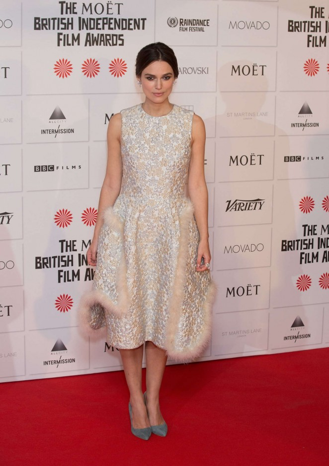 Keira Knightley: 2014 The Moet British Independent Film Awards-15