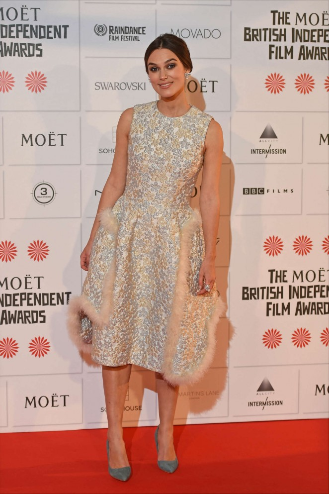 Keira Knightley: 2014 The Moet British Independent Film Awards-16