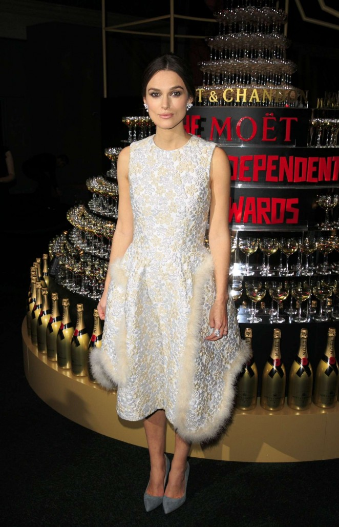 Keira Knightley: 2014 The Moet British Independent Film Awards-20