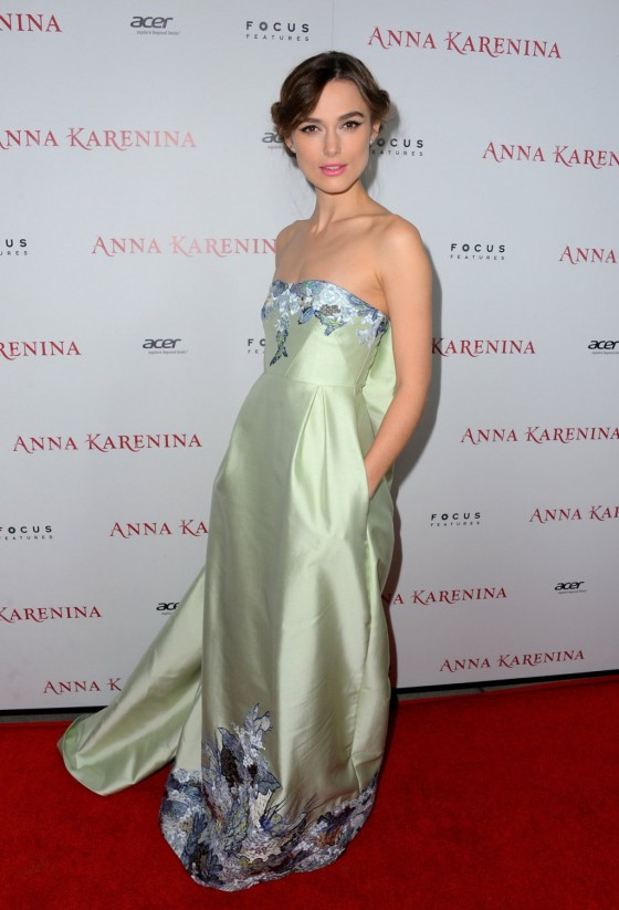 Keira Knightley - ANA KARENINA Premiere in Los Angeles-03