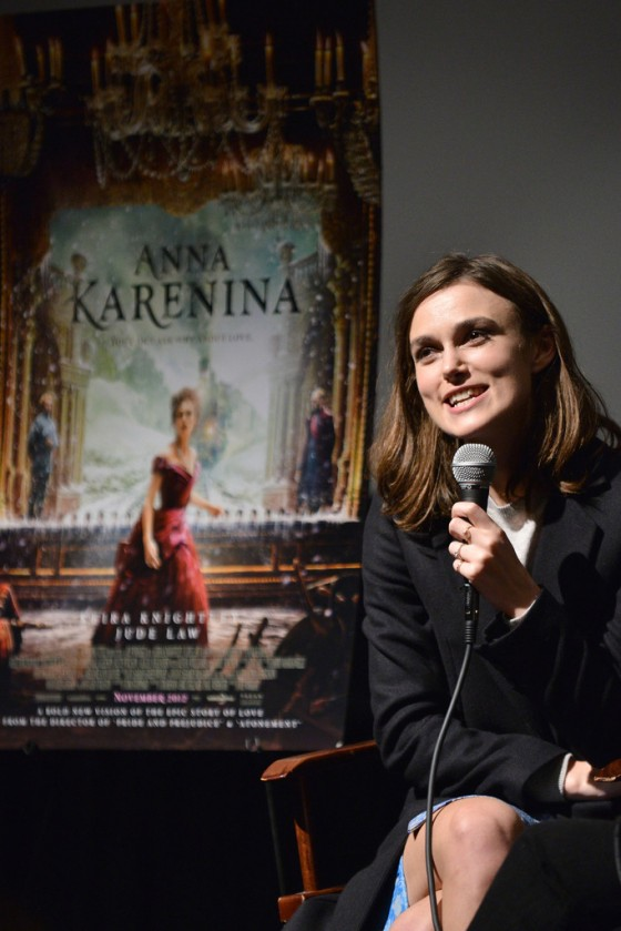 "Keira Knightley - ""Anna Karenina"" TheWrap's Awards Season Screening Series in LA 12/6/12"