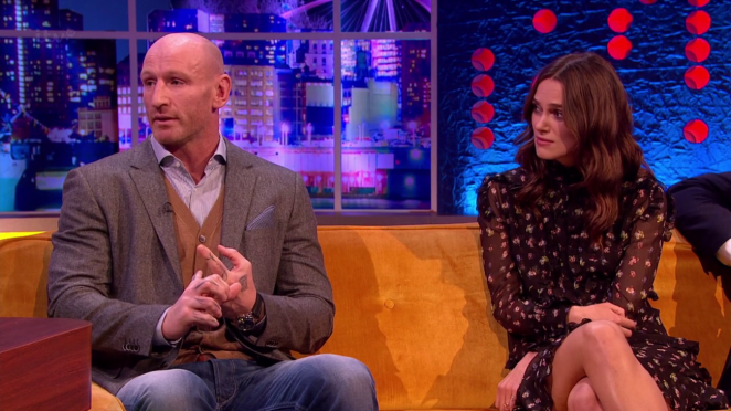 Keira Knightley: The Jonathan Ross Show -09