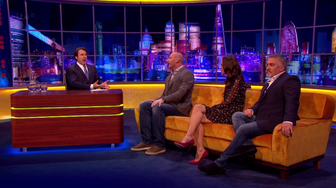 Keira Knightley: The Jonathan Ross Show -10