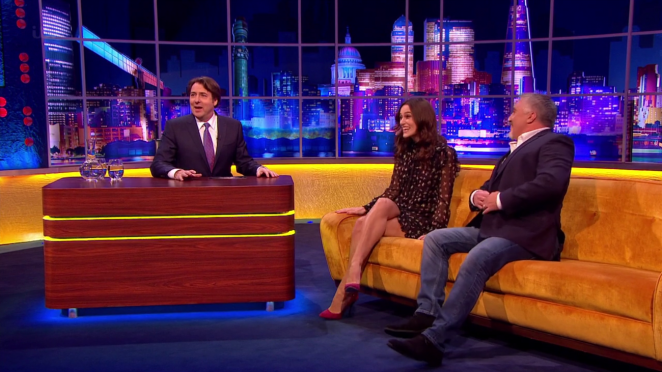 Keira Knightley: The Jonathan Ross Show -11