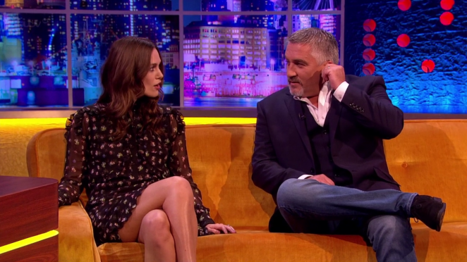 Keira Knightley: The Jonathan Ross Show -15