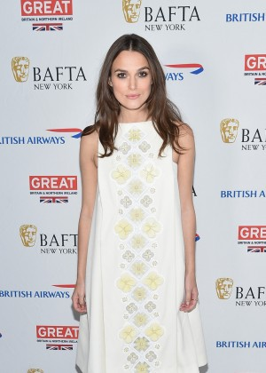 Keira Knightley - BAFTA New York Presents: In Conversation With Keira Knightley in NYC