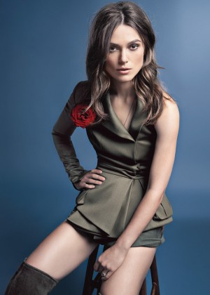Keira Knightley - Glamour UK Magazine (November 2014) adds