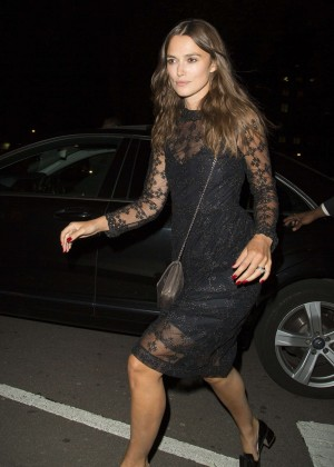 Keira Knightley in Black Dress at GENETIC X Liberty Ross Launch Event in London