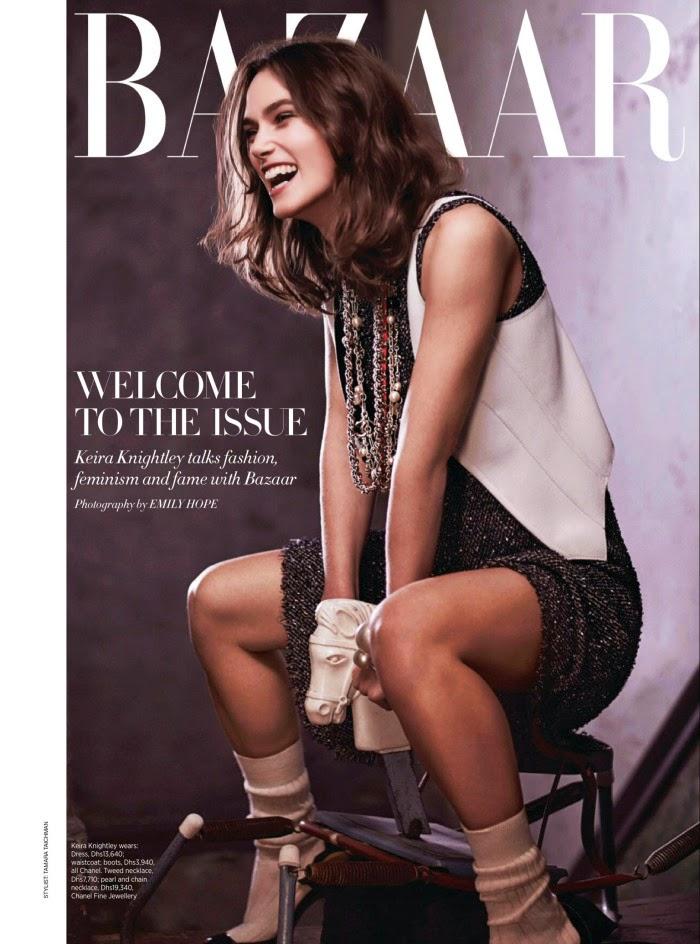 Keira Knightley – Harper's Bazaar Arabia Magazine (April 2014)