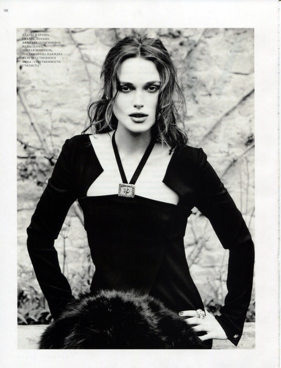 Keira Knightley - Harper's Bazaar Russia Photoshoot January 2013