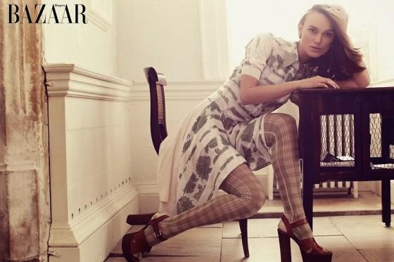 Keira Knightley: Harpers Bazaar UK 2014 -01
