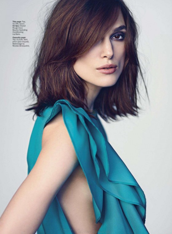 Back to post Keira Knightley     Marie Claire Magazine  March 2013 Keira Knightley 2013