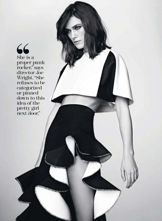 Keira Knightley 2013 : Keira Knightley – Marie Claire Magazine 2013-11