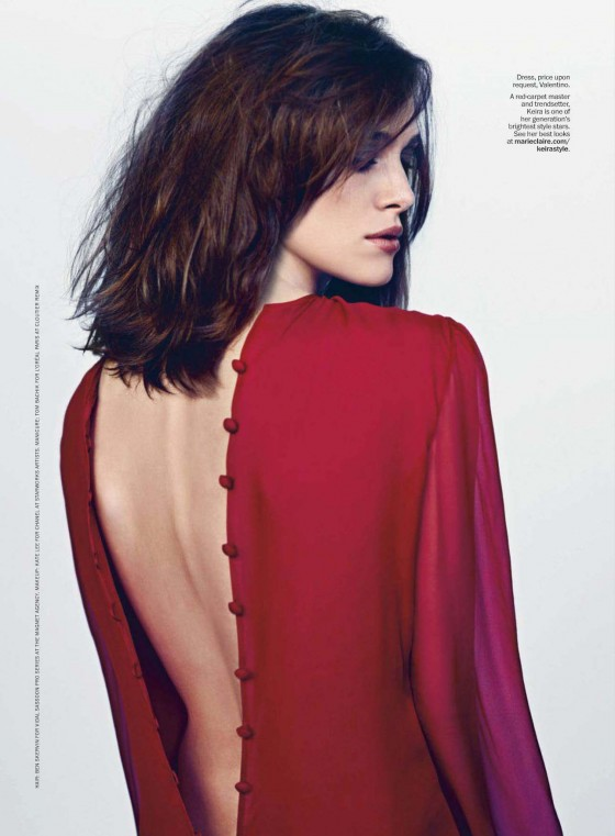 Keira Knightley – Marie Claire Magazine 2013-12