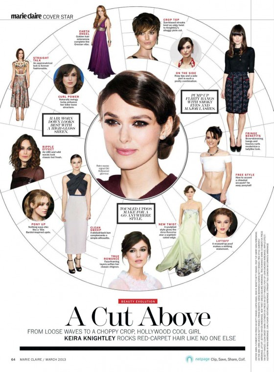 Keira Knightley 2013 : Keira Knightley – Marie Claire Magazine 2013-13