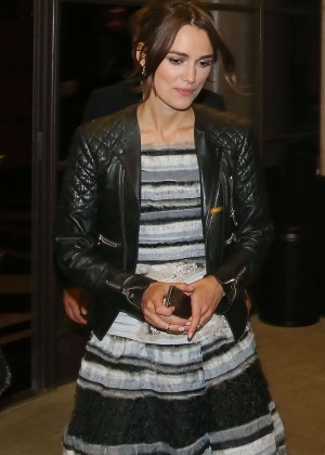Keira Knightley Night Style - out in London