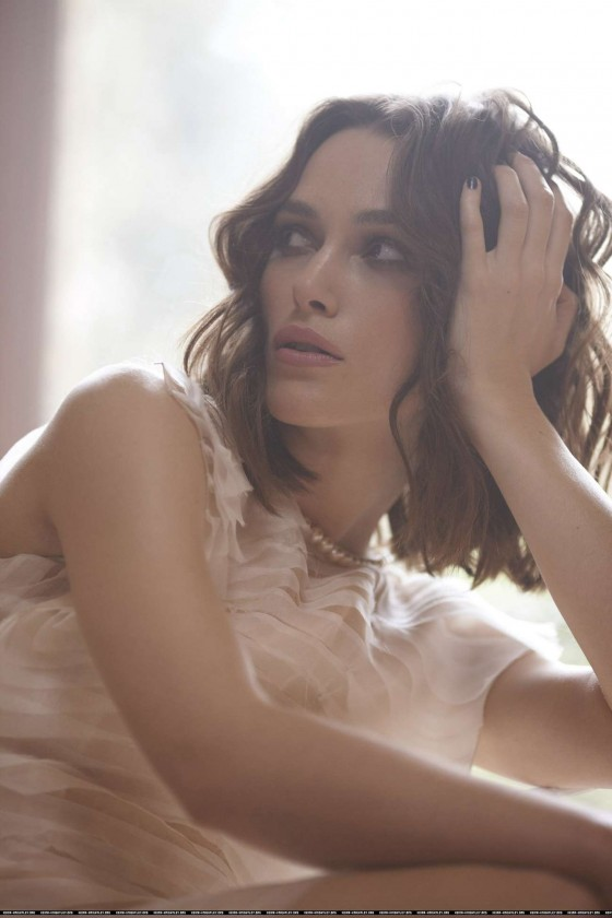 Keira Knightley - Telegraph photoshoot