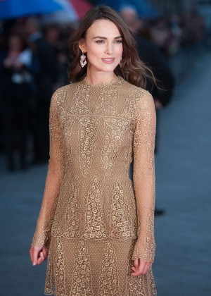 """Keira Knightley - """"The Imitation Game"""" Opening Night in London"""