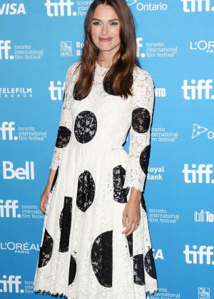 "Keira Knightley - ""The Imitation Game"" press conference at TIFF in Toronto"