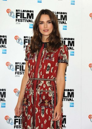 """Keira Knightley - """"The Imitation Game"""" Press Conference & Photocall in London"""