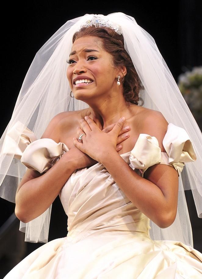 Keke Palmer as Cinderella on Broadway
