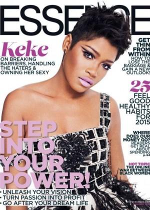 KeKe Palmer - Essence Magazine Cover (January 2015)