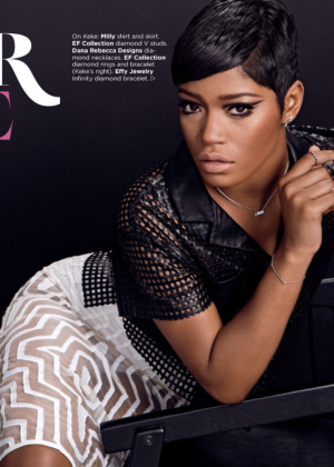 Keke Palmer - Essence Magazine (January 2015)
