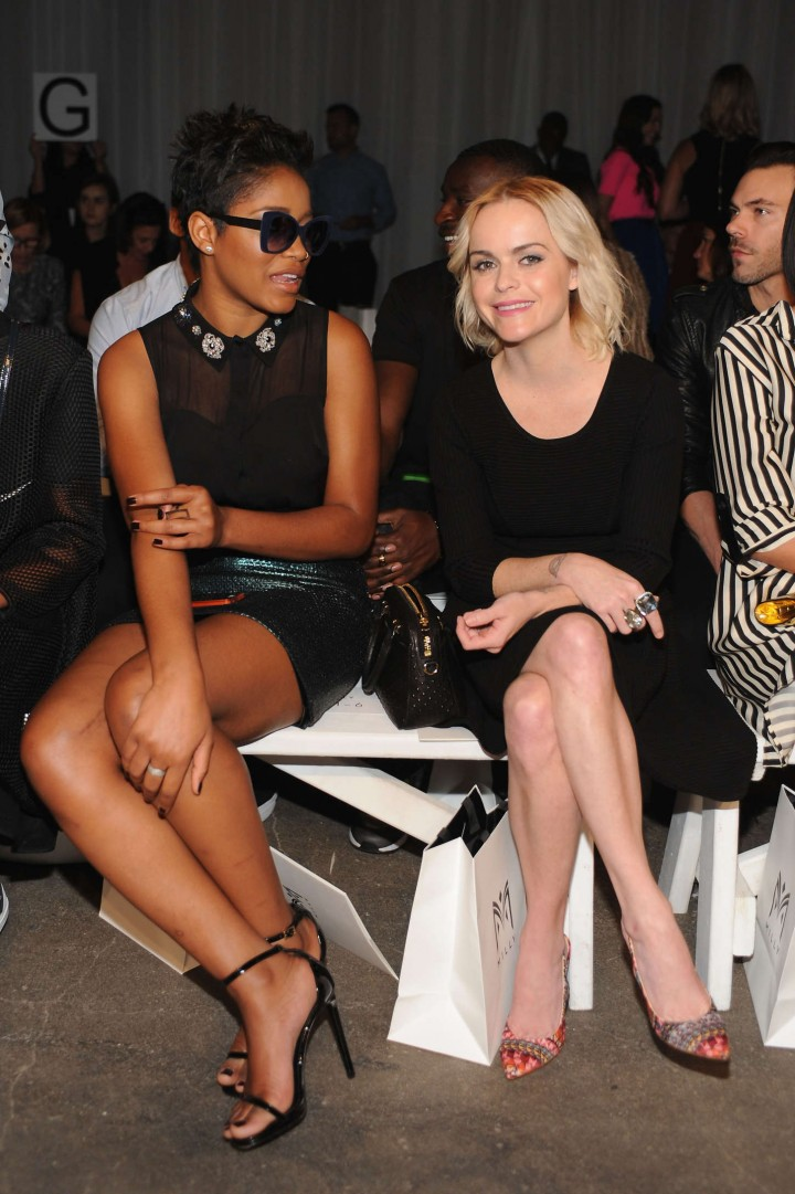 Keke Palmer: Michelle Smith NY Fashion Show 2014 -02