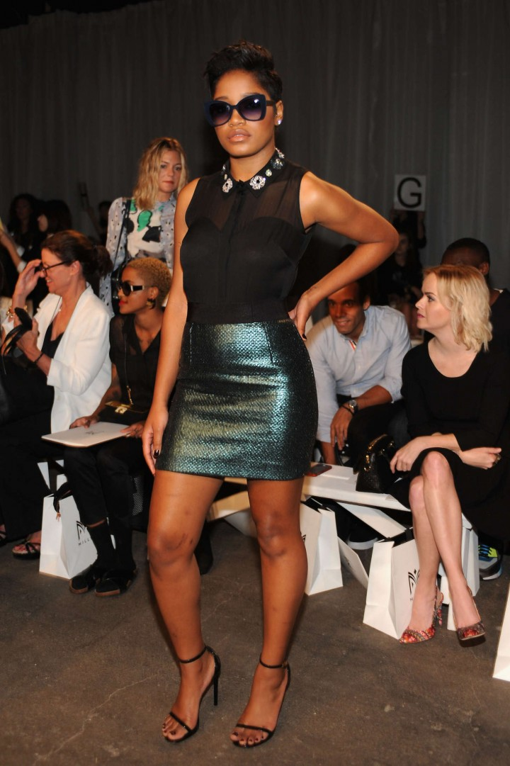 Keke Palmer - Michelle Smith Fashion Show in NYC