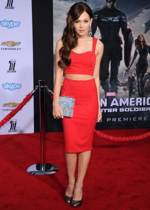 Kelli Berglund - Captain America: The Winter Soldier Premiere -02