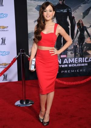 Kelli Berglund - Captain America: The Winter Soldier Premiere -04