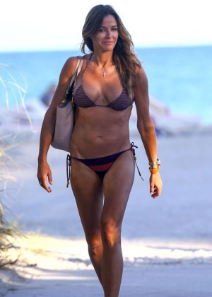 Kelly Bensimon Bikini In Miami -03