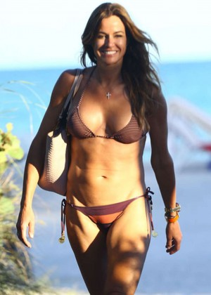 Kelly Bensimon Bikini In Miami -04