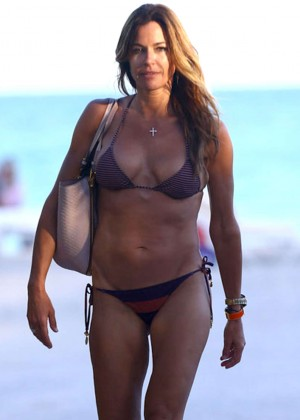 Kelly Bensimon Bikini In Miami -05