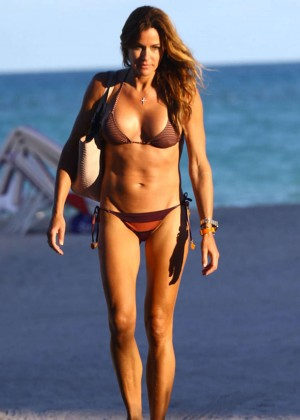 Kelly Bensimon Bikini In Miami -07