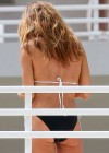 Kelly Bensimon Wearing Black Bikini in Miami -12
