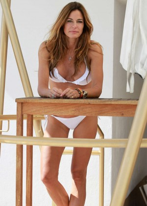 Kelly Bensimon in White Bikini  -09