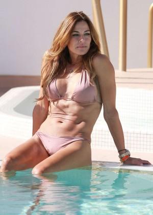 Kelly Bensimon in Bikini in Miami