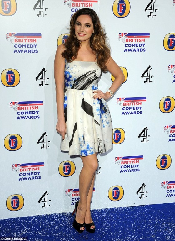 Kelly Brook – British Comedy Awards-01