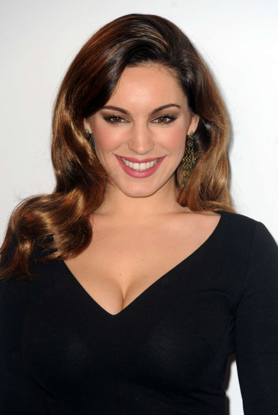 Kelly Brook - 2012 British Fashion Awards in London