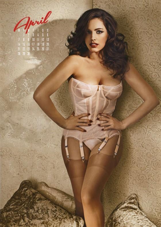 Kelly Brook: Calendar 2014 -06 - GotCeleb Nicole Scherzinger Discography