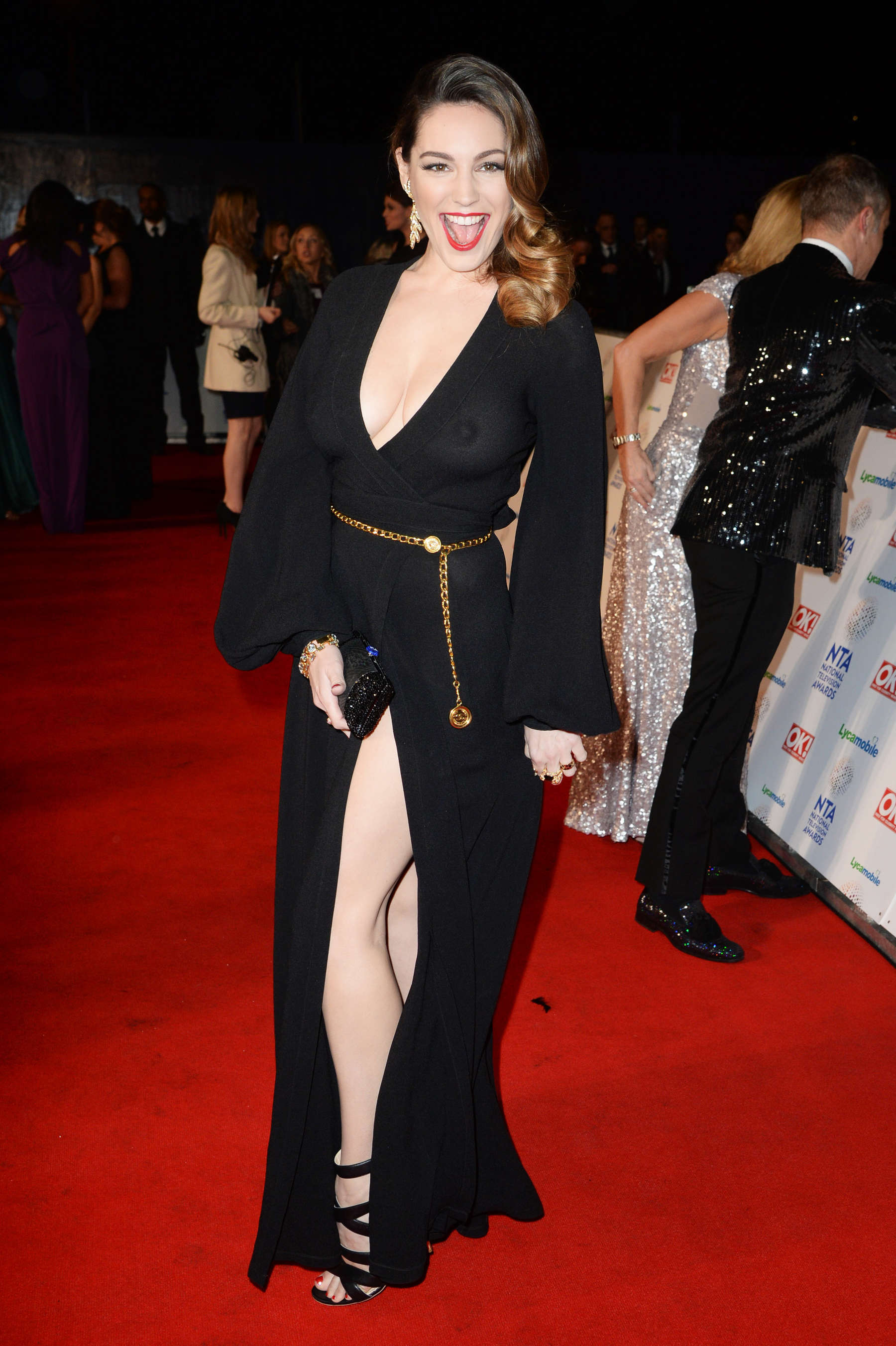 Kelly Brook 2014 National Television Awards In London 14