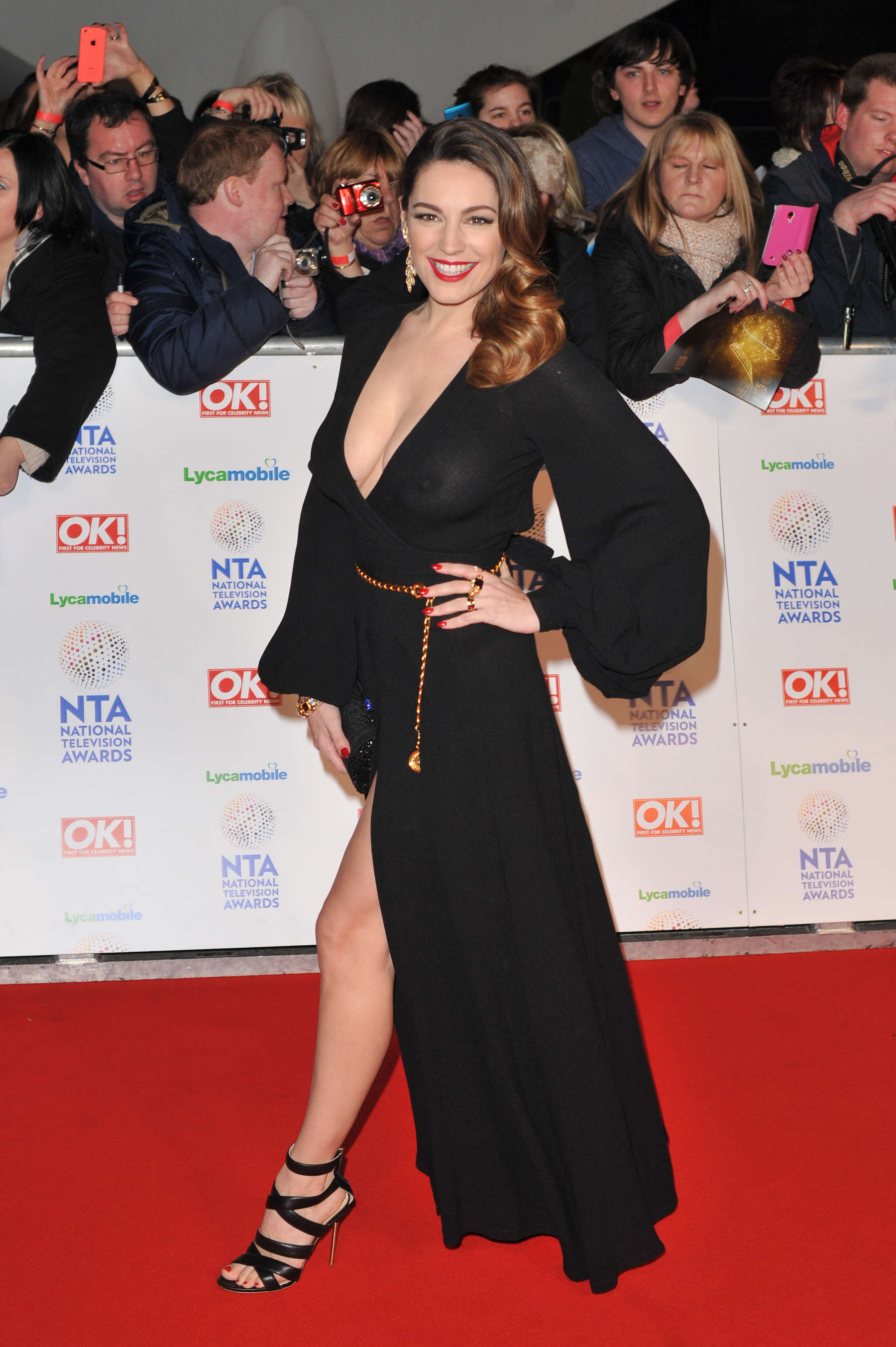Kelly Brook 2014 National Television Awards In London 18