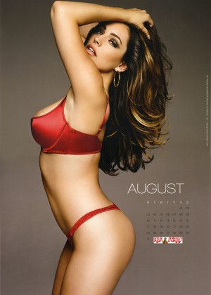 Kelly Brook: 2015 Calendar -06