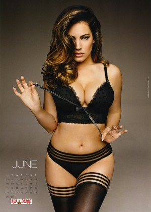Kelly Brook: 2015 Calendar -07
