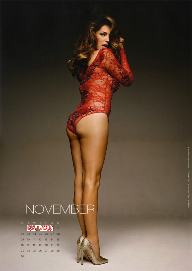 Kelly Brook - 2015 Calendar (HQ Scans)