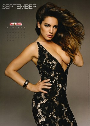 Kelly Brook: 2015 Calendar -14