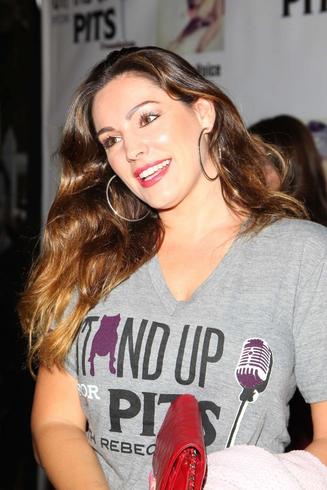 Kelly Brook - 4th annual 'Stand Up For The Pits' Event in West Hollywood