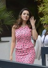 Kelly Brook - arrives home after appearing on Lorraine in London -01